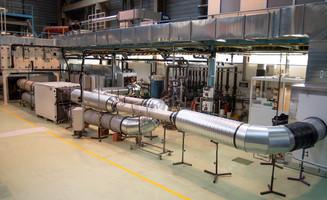 Plateforme de test de CTA (Centrales de traitement d'air) au CETIAT