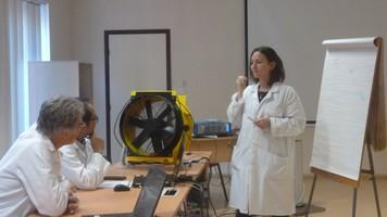 Formation avec les experts aérauliciens du CETIAT