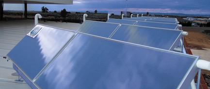 Panneaux solaires (CETIAT)