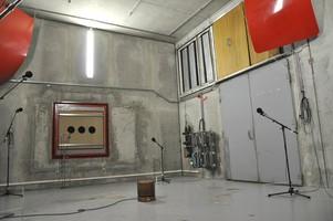 Chambre réverbérante (PTF d'essais du CETIAT)