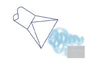 Exemple de système de captage inducteur (schéma réalisé par le CETIAT)