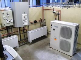 Pompes à chaleur : plate-forme de travaux pratiques du CETIAT